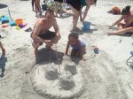 Sandcastle Kyle and Annie