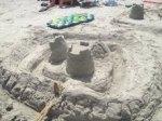 Sandcastle Ryan and Jacob